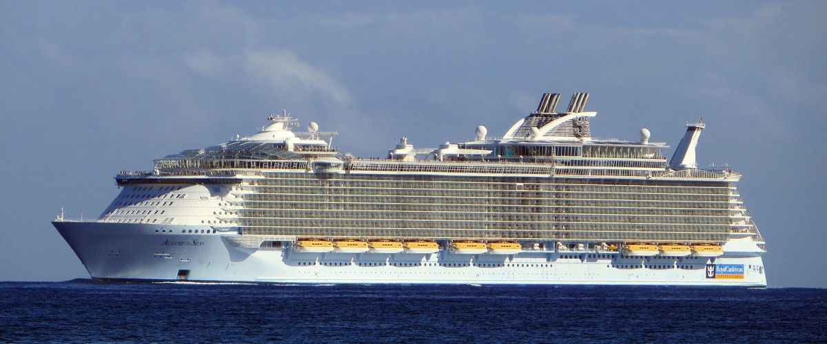 Mise à jour pour l'Allure of the Seas