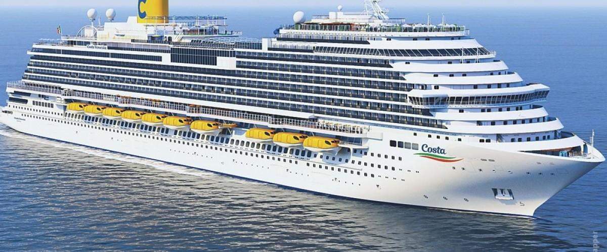 Nouveau navire pour Costa et site pour agents