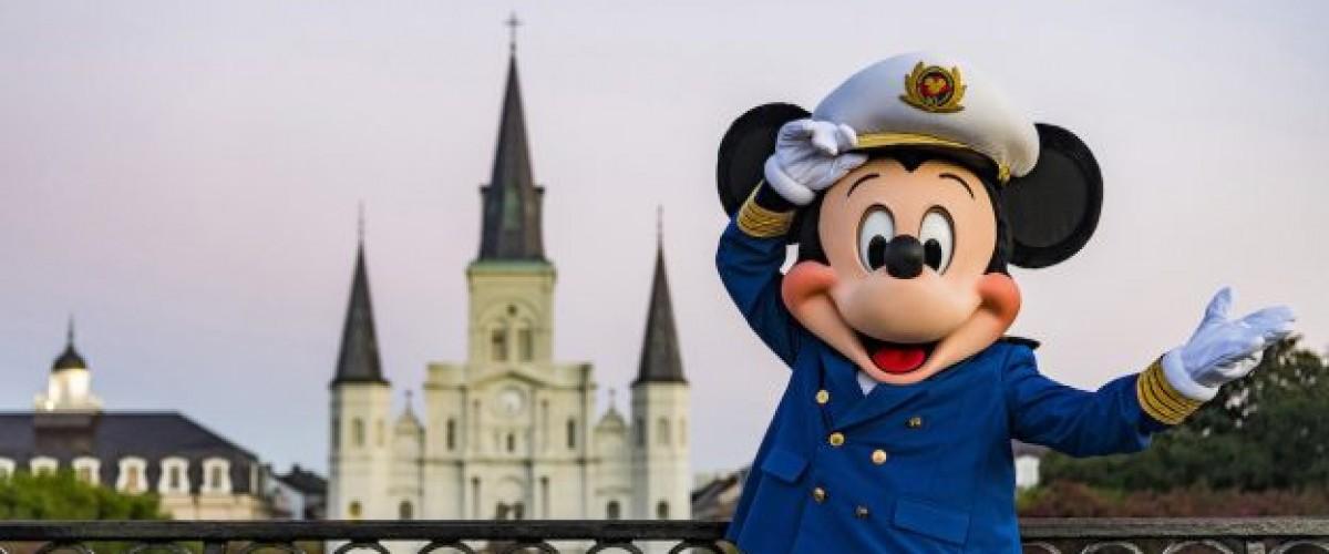 Disney Cruise fait ses débuts en Nouvelle-Orléans