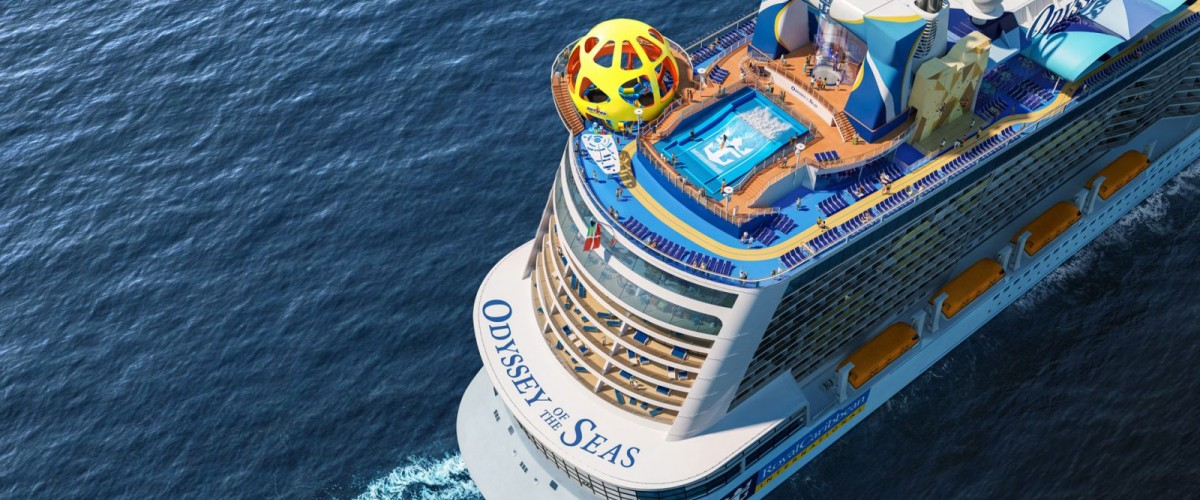 Livraison de l'Odyssey of the Seas par Royal Caribbean