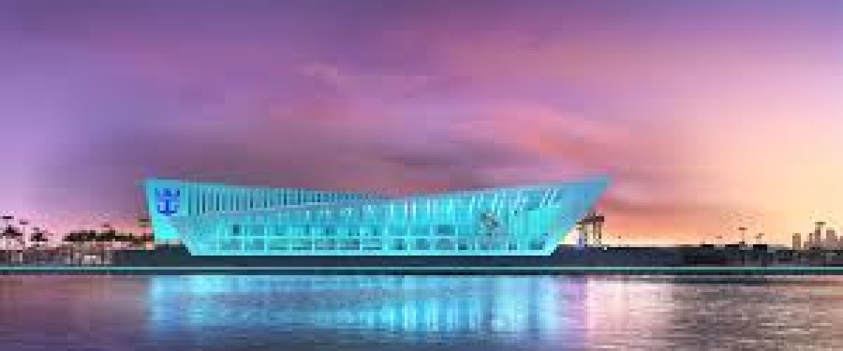 Le terminal maritime de Royal Caribbean