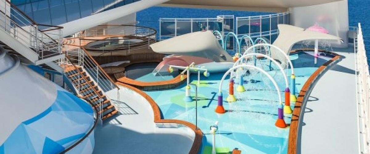 Un parc aquatique pour Caribbean Princess