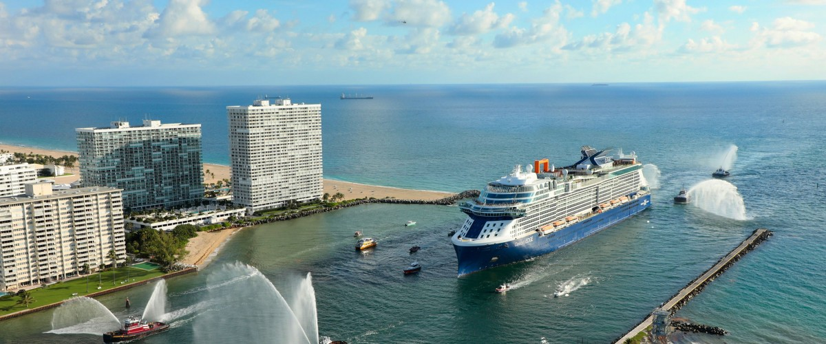Le Celebrity Edge à Port Everglades