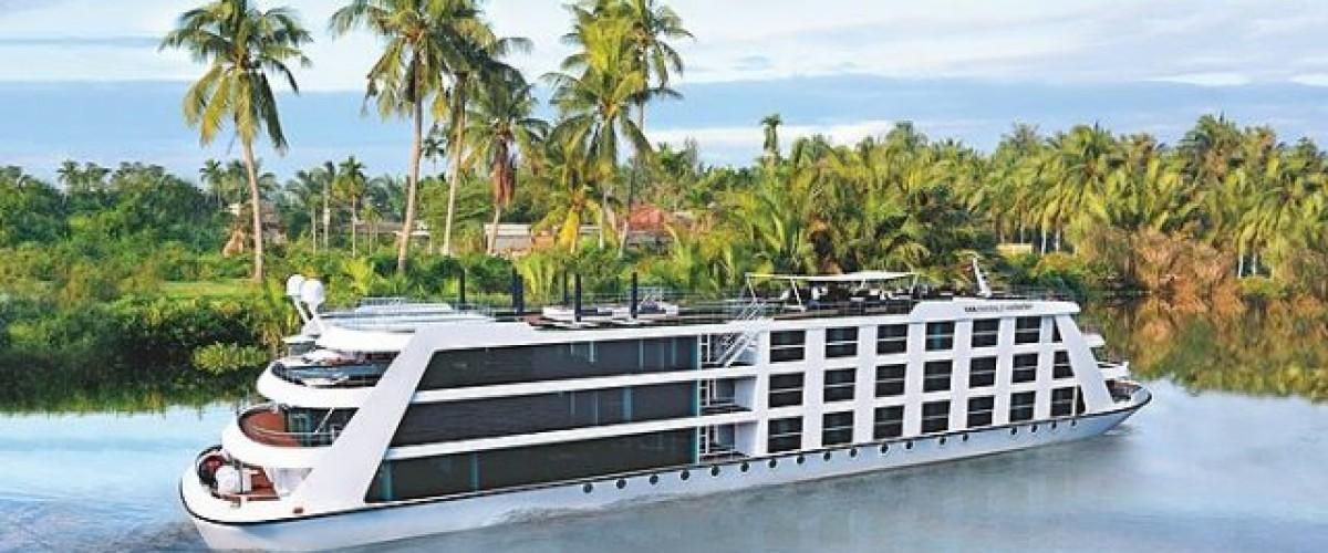 Un nouveau navire sur le Mekong