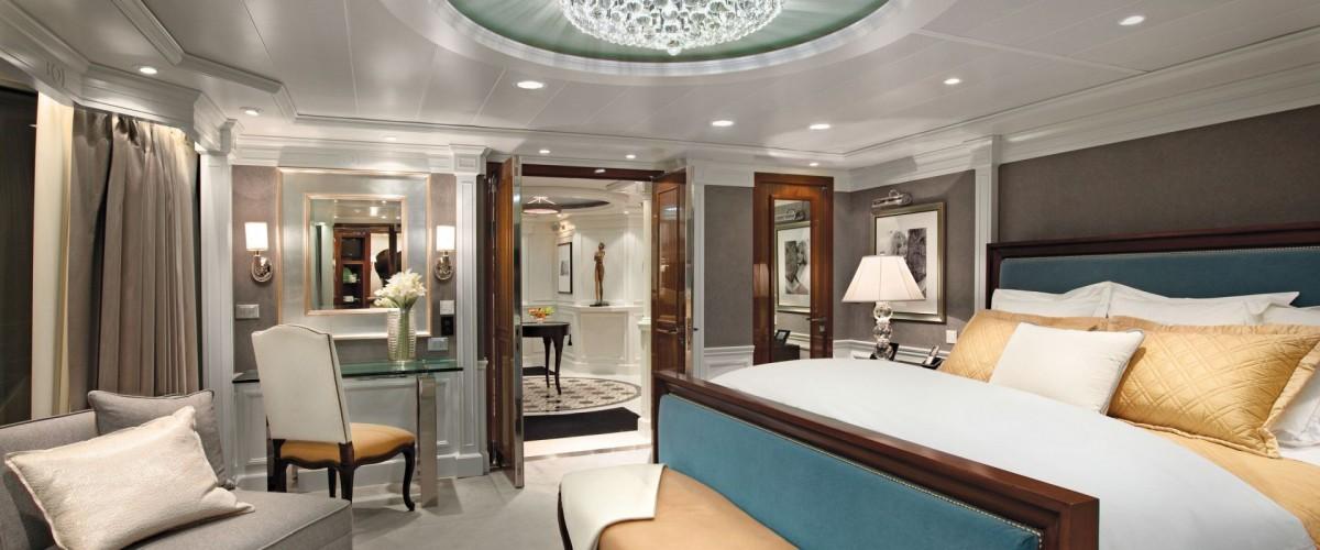 La Owner's Suite d'Océania Cruises meublée par Ralph Lauren Home