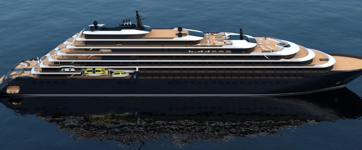 Et le nom du premier navire de Ritz-Carlton est...
