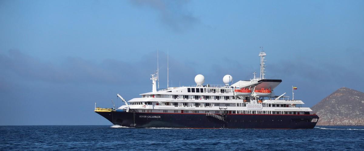 Silversea fait ses débuts au Galapagos
